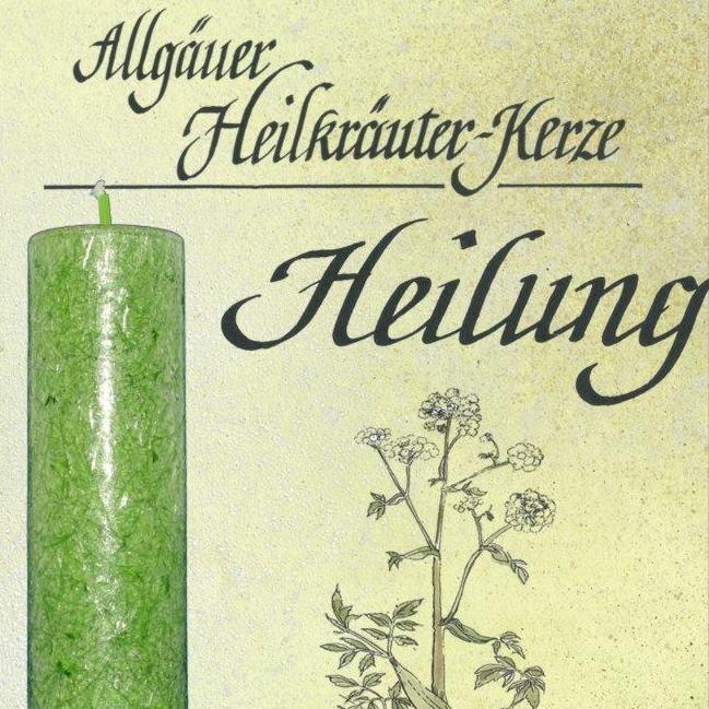 Allgäuer Heilkräuter Kerzen