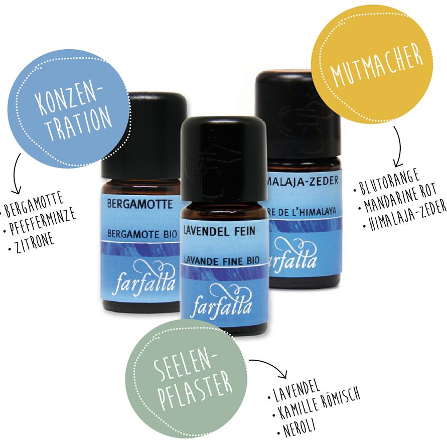 Ätherische Duftöle & Aromamischungen