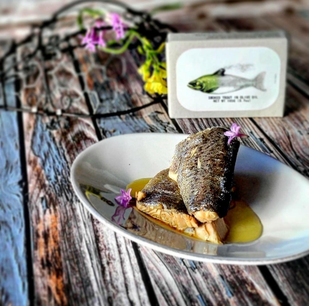 Gourmetecke - Fischkonserven, Muscheln, Aufstriche, Pesto, Algen, Kuchen, Rum & Co