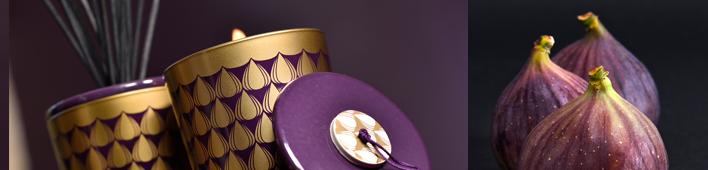 RAUMDUFT - KOLLEKTION - FIGUE NOIRE - Ein kräftiges, sinnlich- fruchtig und holziges Parfum mit Tiefe