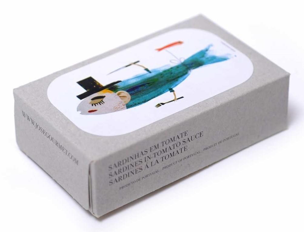 Jose Gourmet - Fischkonserven - Sardinen in Tomatensauce