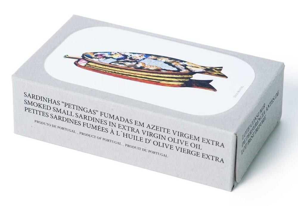Jose Gourmet - Fischkonserven - Kleine, geräucherte Sardinen in Olivenöl