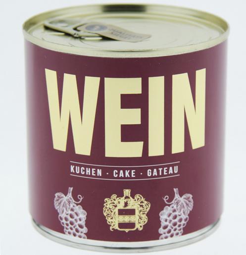 Wondercandle - Cancake - Kuchen in der Dose - ROTWEIN