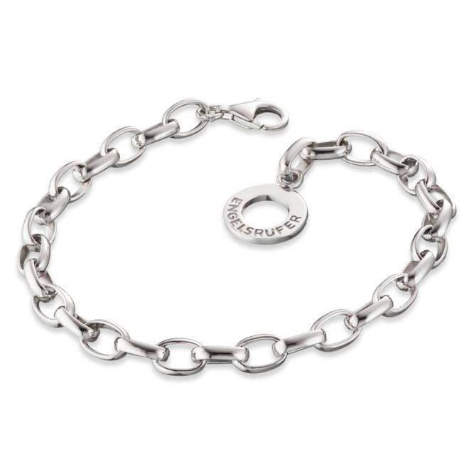 Engelsrufer - Armband 20,5cm silber rhodiniert