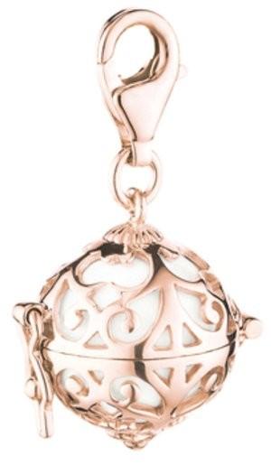 Engelsrufer - Charm - Silber Rosé vergoldet