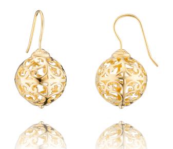 Engelsrufer - Ohrringe, vergoldet 15mm