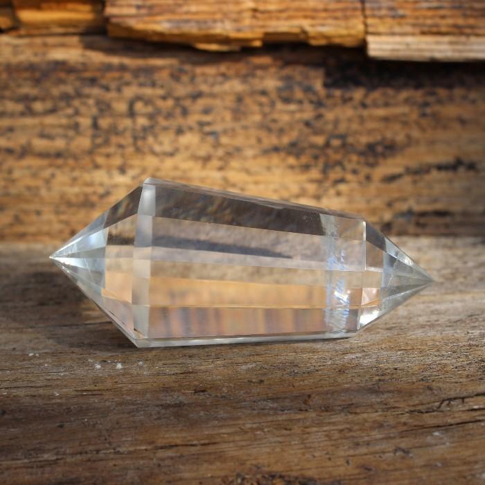 Kristalle, Heilsteine - Seltene und glasklare Doppelender Vogler
