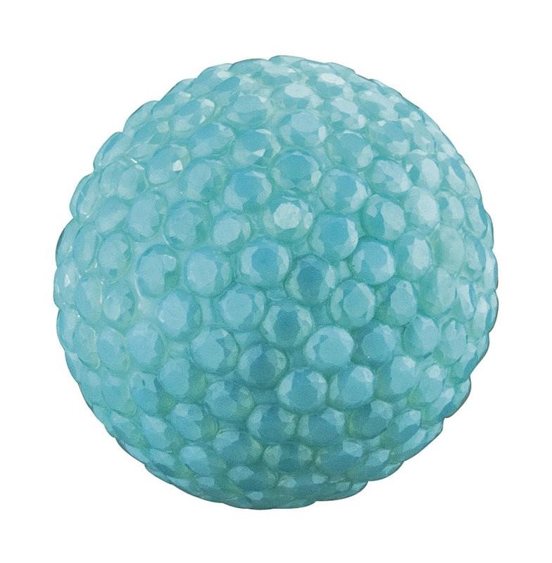 Engelsrufer - Klangkugel mit Kristallen - Blau