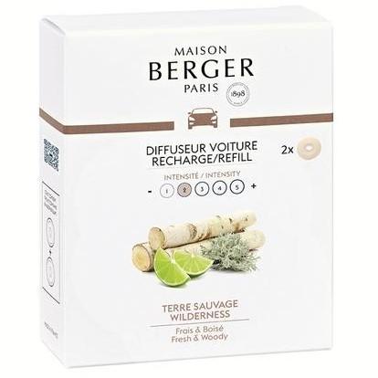 Maison Berger - AUTODUFT - Refill - MR Unberührte Landschaft - 2 Stk.
