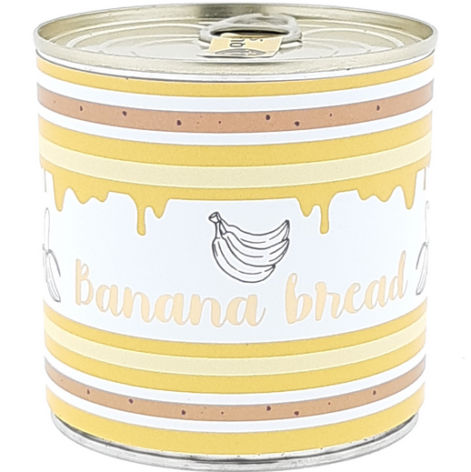 Wondercandle - Cancake - Kuchen in der Dose - BANANA BREAD