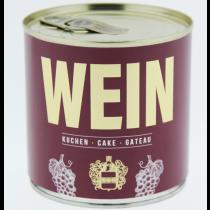 Cancake - Wondercandle - Kuchen in der Dose - ROTWEIN