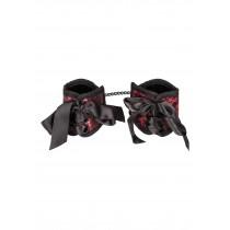 Handschellen / Handbänder im sinnlichen Korsett Spitzen Design