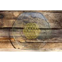 Die Blume des Lebens, TC Engergy Plate, gross, 220 x 6mm