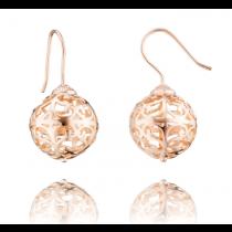 Engelsrufer - Ohrringe, rosé vergoldet 15mm