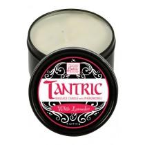 Massagekerze Tantric Tantra mit Pheromonen - WHITE LAVENDER