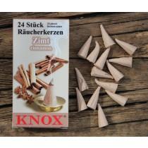 Räucherkegel, Räucherkerzen Knox - ZIMT