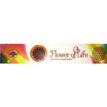 Räuchern, Räucherwerk, RÄUCHERSTÄBCHEN - FLOWER OF LIFE - 15g - Die Blume des Lebens