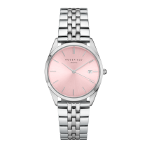 Rosefield - Watches - Damenuhr - THE ACE - Sunray / Silber / Pink