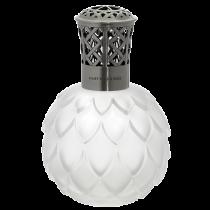 Lampe Berger - Lampe Artichaut Givrée - Weiss / Transparent