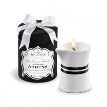 Massagekerze - Massageöl - Petits Joujoux - A trip to ATHENS - 190g in edler Geschenksverpackung