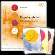 Ingrid Auer BUCHSET - ENGELSYMBOLE - Buch und energetisierte Karten - 1-49
