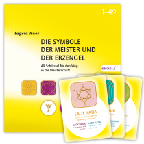 Ingrid Auer - BUCHSET - Buch und energetisierte Karten -  DIE SYMBOLE DER MEISTER UND ERZENGEL