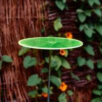 SONNENSCHEIBE - Sonnenfänger - GRÜN mit Schwingstab - groß 20cm