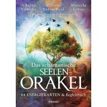 Orakelkarten / Buch - Das schamanische Seelenorakel - 64 Engergiekarten + Begleitbuch