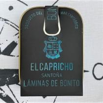 Gourmet Fischkonserven - El CAPRICHO - Santona Laminas de Bonito - THUNFISCHFILET