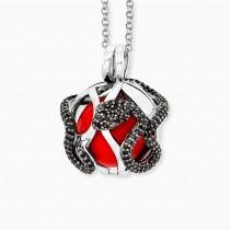 Engelsrufer - Halskette mit Anhänger - Silber / ZIrkonia - EDEN