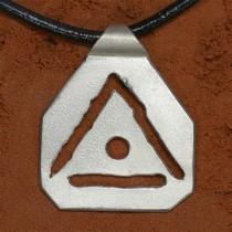 Heilschmuck - Ingmar - Aldebaran - Handarbeit aus Tirol - 925 Silber - Symbol ERBAN - Konzentration / Lernhilfe