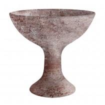 Räucherschale - Räucherkelch aus Terracotta - Whitewash