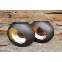 Duftlampe - Windlicht - Marrakesch - Gold & Kupfer