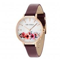 Julie Julsen - Uhr - Flower - Rosé Burgundy