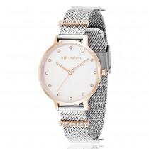 Julie Julsen - Charming - Uhr Basismodell - Dots - Rosé Silber - 34mm