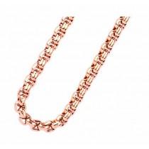 Traumfänger, Glücksanhänger - HALSKETTE - Rosé Gold - 70cm