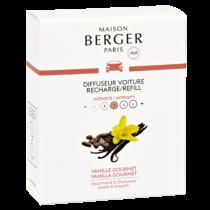 Maison Berger - AUTODUFT - Refill - Leckere Vanille - 2 Stk.