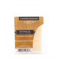 Candle Lite - RAUMDUFT - AROMAWACHS - Tart - Nutmeg & Oud Wood