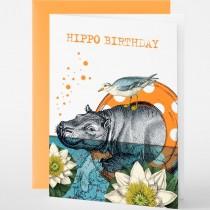 Pabuku - Grußkarten - Geburtstag - HIPPO BIRTHDAY