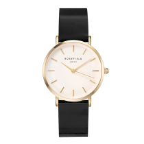 Rosefield - Watches - Damenuhr - PREMIUM GLOSS - Schwarz / Gold - 33mm