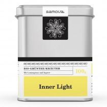 Samova Tee - INNER LIGHT - Bio Grüntee / Kräutertee mit Zitronengras, Ingwer...
