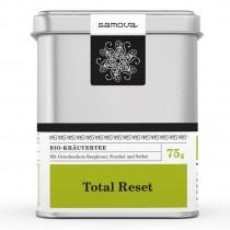 Samova Tee - TOTAL RESET - Bio Kräutertee mit Bergtee, Fenchel, Salbei...