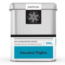 Samova Tee - ISTANBUL NIGHTS - Bio-Schwarztee - Minze Darjeeling / Ceylon mit orientalischen Gewürzen