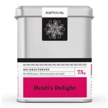 Samova Tee - HEIDIS DELIGHT - Bio-Kräutertee mit Pfefferminze, Zitronenmelisse und Apfel