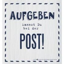 SPÜLLAPPEN - SPÜLTUCH - Aufgeben kannst du bei der Post