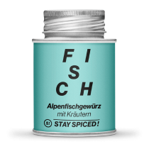 Stay Spiced - Alpenfischgewürz mit Kräutern - FISCH