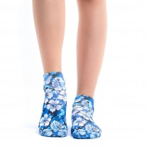 Wigglesteps - bunte SNEAKER für DAMEN - Blue Freesia
