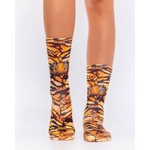 Wigglesteps - bunte SOCKEN für DAMEN - Tigers Eyes