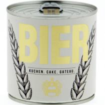 Cancake - Wondercandle - Kuchen in der Dose - BIER - Rührkuchen getränkt mit Bier