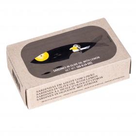 Jose Gourmet - Fischkonserven - Sardinen in Olivenöl mit Zitrone